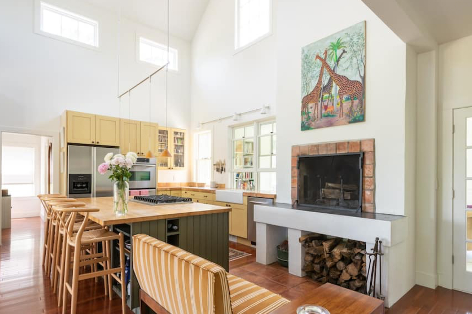 Sunfilled modern farmhouse on a 27 acre safe-haven