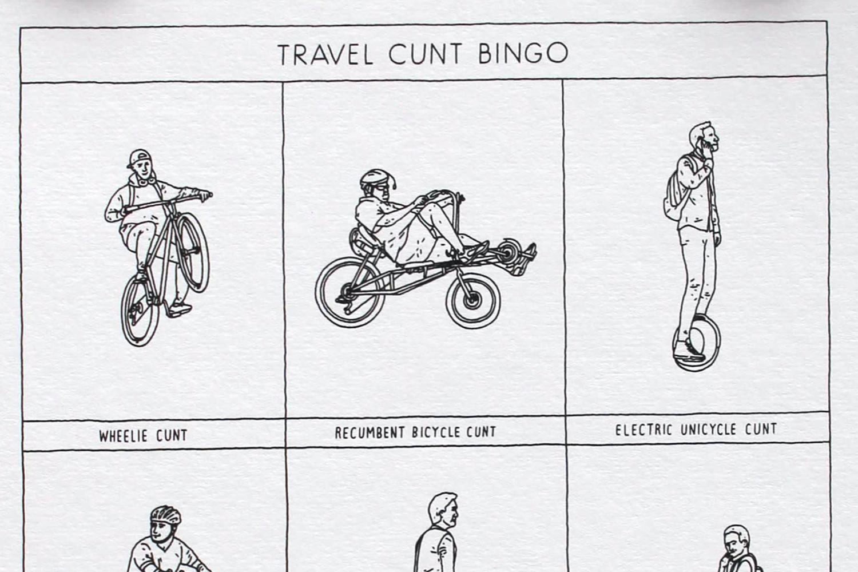 Travel Cunt Bingo