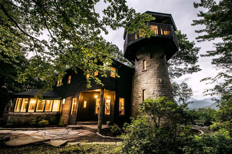 Woodstock Stone Tower House