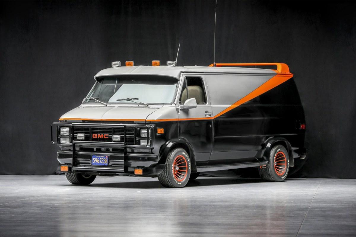 a-team TV show van