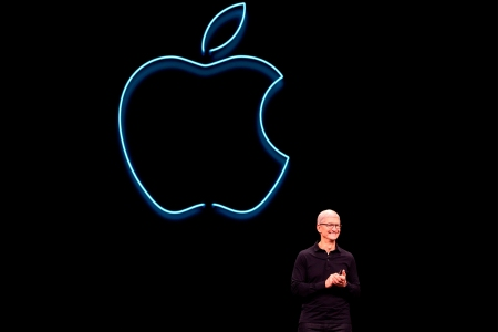 Apple CEO Tim Cook keynote