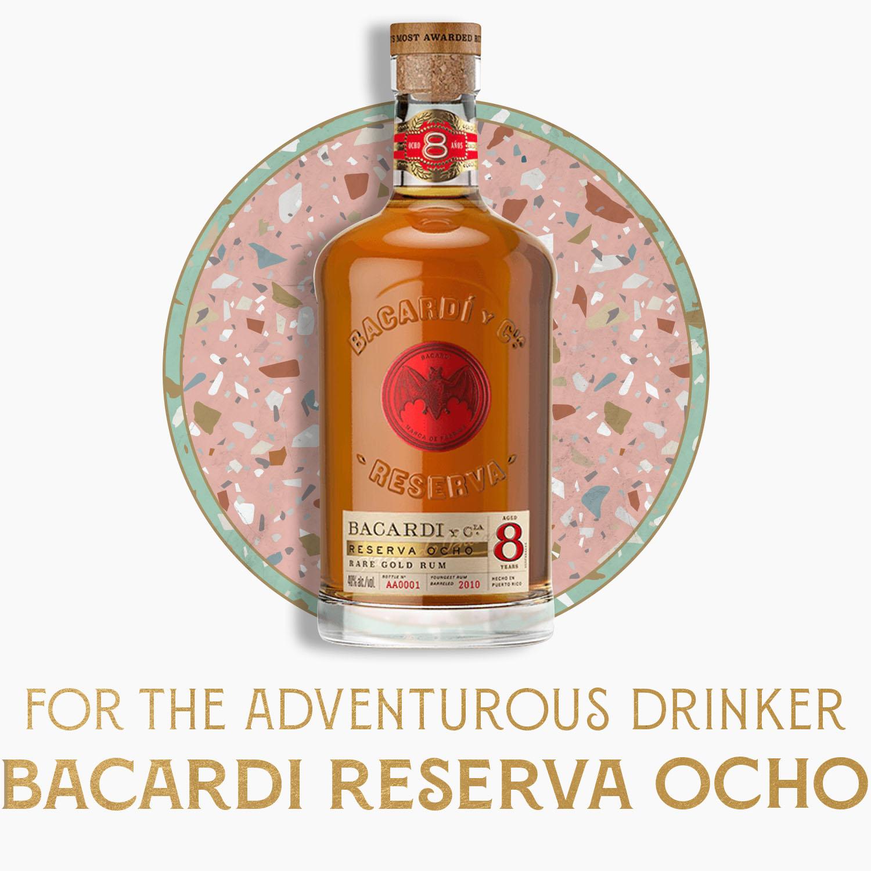 for the adventurous drinker: bacardi reserva ocho
