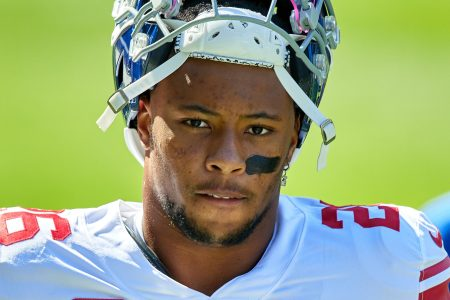 How Saquon Barkley Is Using a Torn ACL to His Advantage