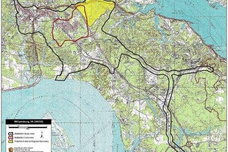Battlefield map