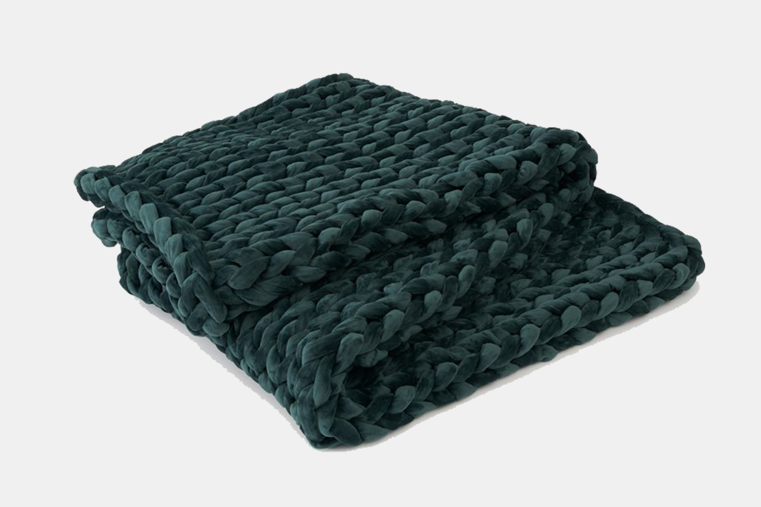 Bearaby Velvet Napper Weighted Blanket