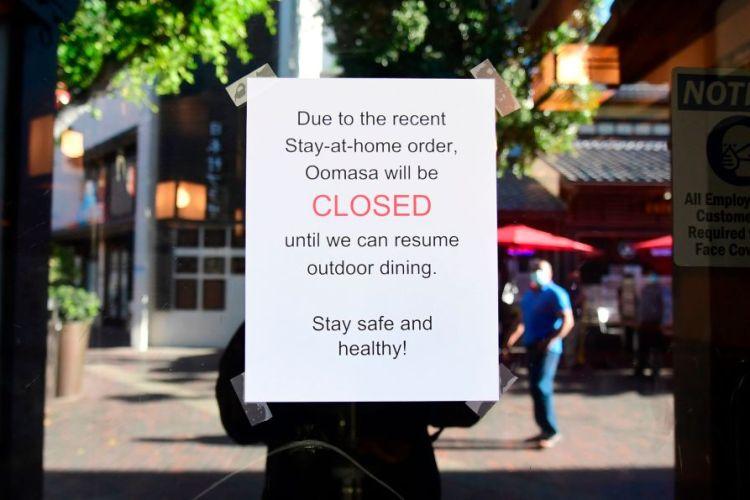 Closed restaurant Los Angeles