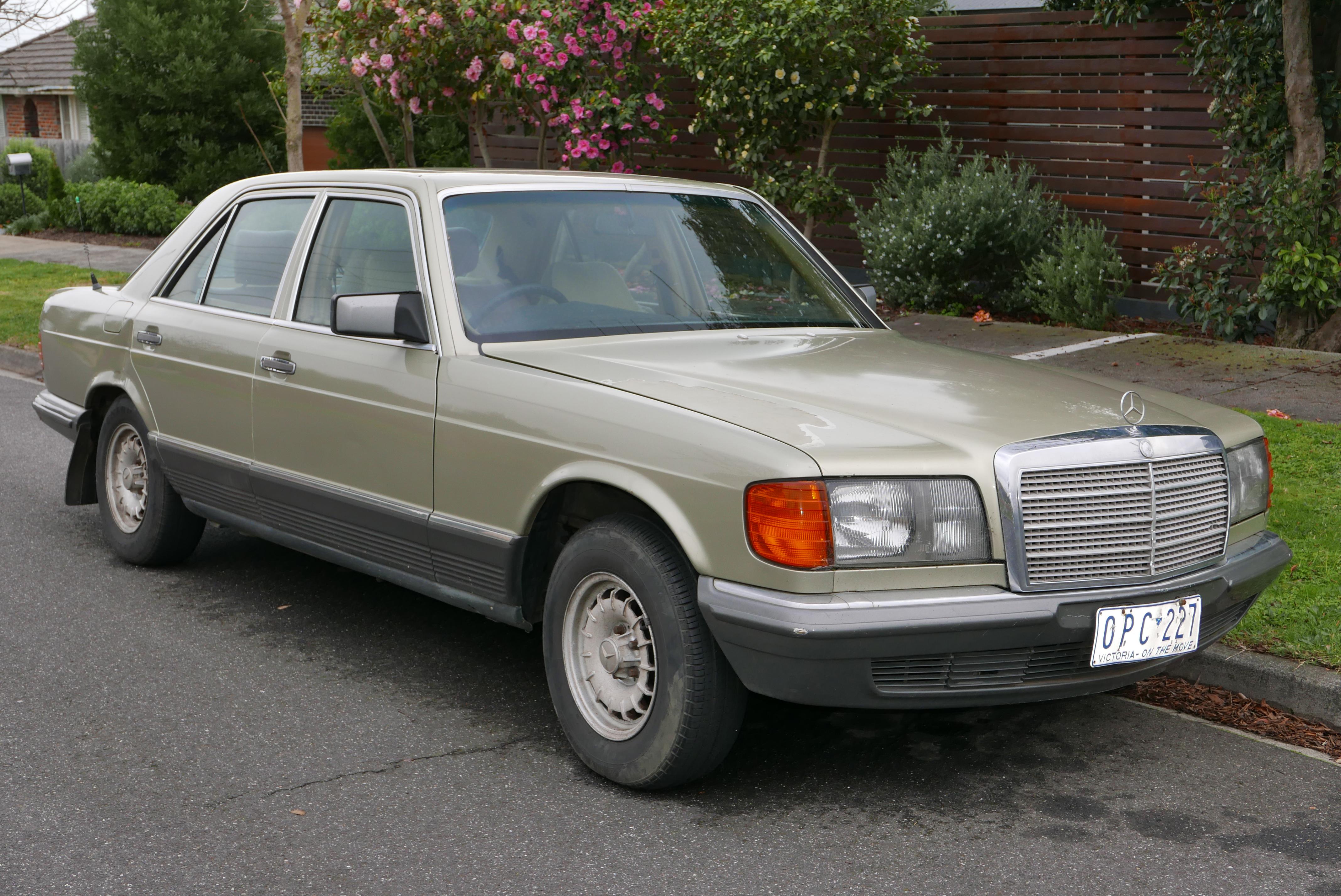 1984 mercedes-benz 380 se