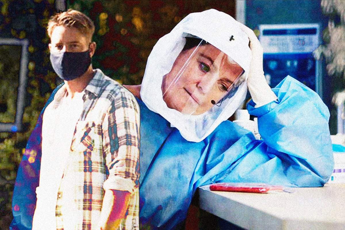 Dear TV: Please Stop Shoehorning the Pandemic Into Scripts