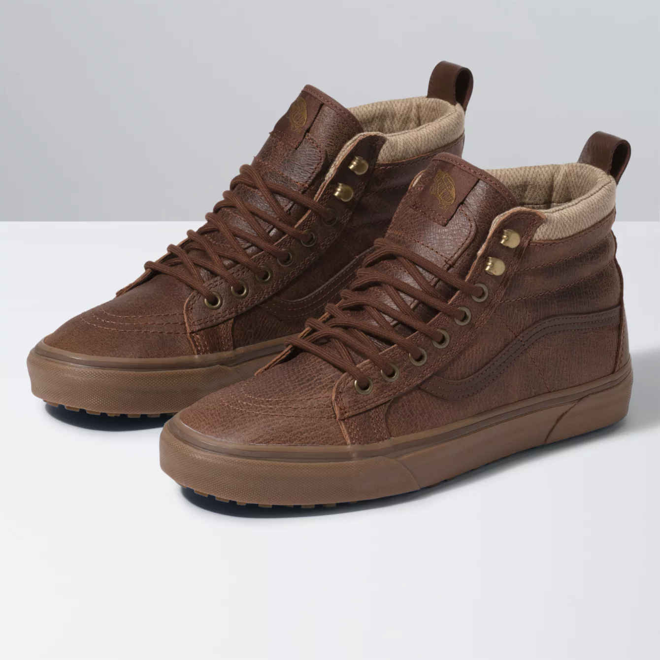 Vans Sk8-Hi MTE Leather/Herringbone