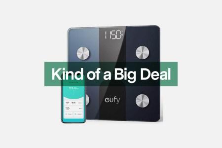 eufy smart scale on sale