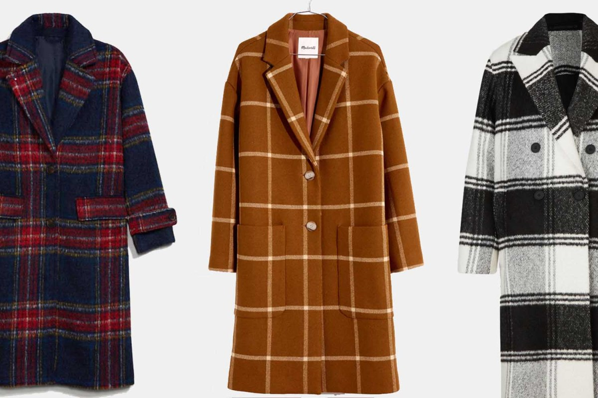 Buy the Woman in Your Life an Oversized Coat So That She Can Be More Like Taylor Swift