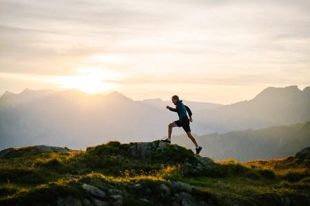 trail running walking