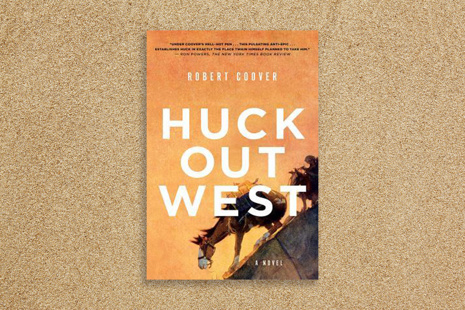 Huck Out West cover.