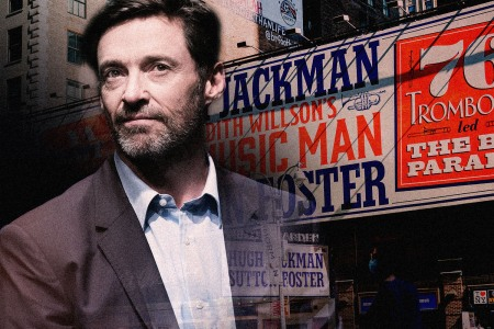 Hugh Jackman The Music Man Broadway