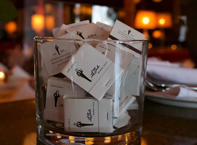 La Scala matchbooks