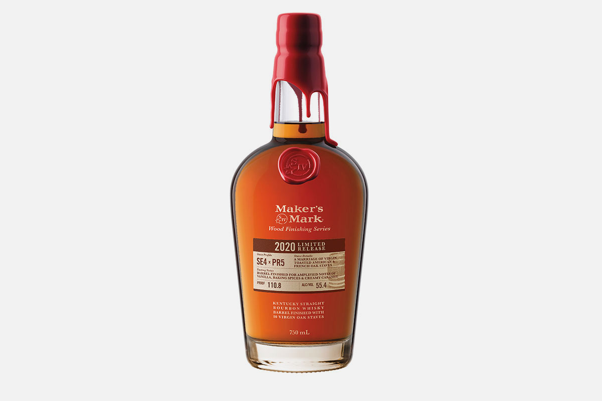 Maker's Mark limited-edition whiskey