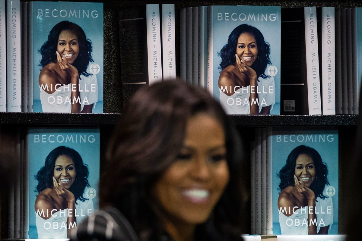 michelle obama becoming book release