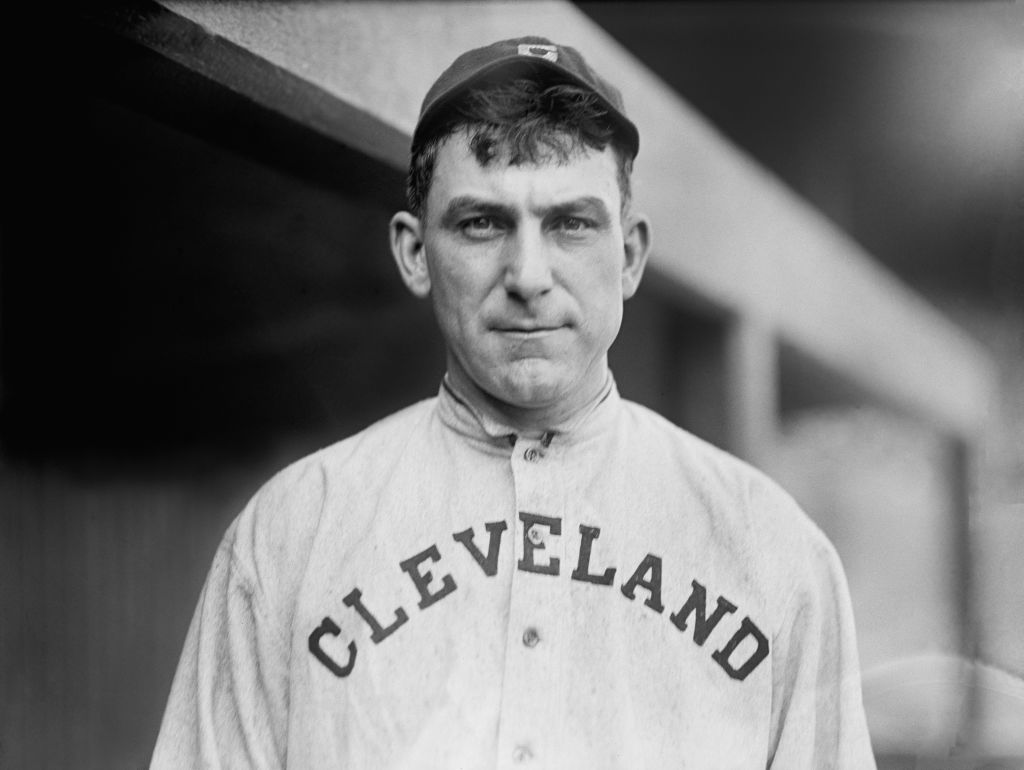 Nap Lajoie, Major League Baseball Player, Portrait, Cleveland Naps, Harris & Ewing, 1913