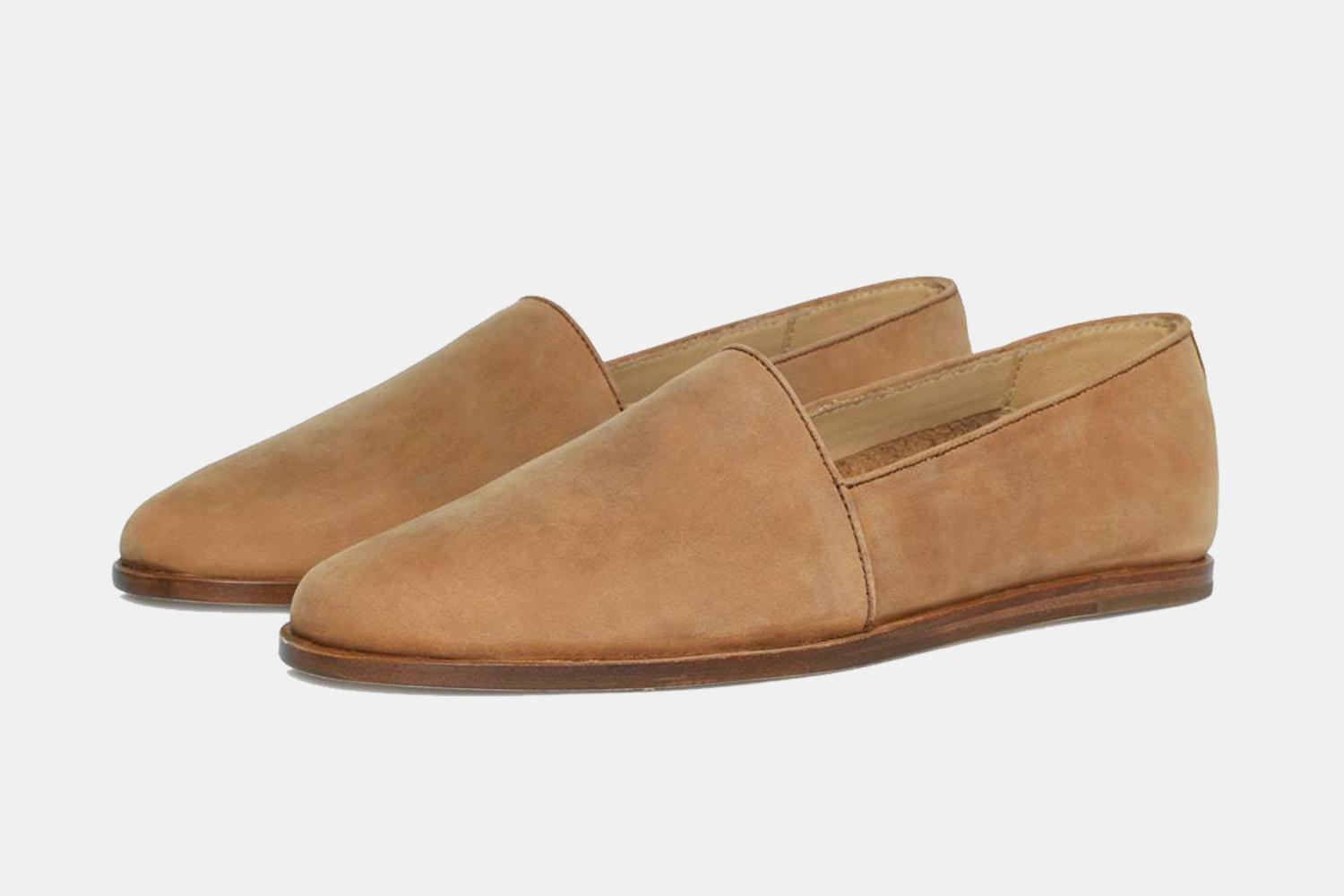 Nisolo Alejandro leather slip-on shoes