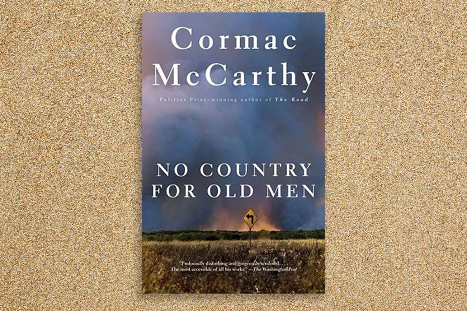 No Country for Old Men cover.
