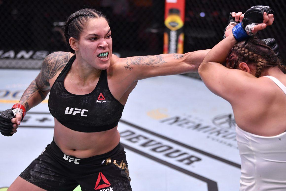 Amanda Nunes fights Felicia Spencer