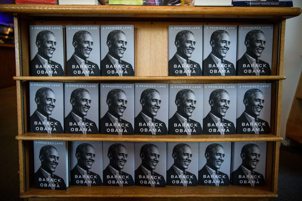 Copies of Barack Obama's new book