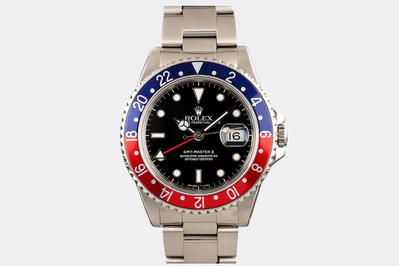 """the Rolex """"Pepsi"""" GMT-Master"""