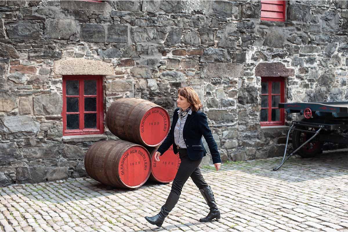 Rachel Barrie of GlenDronach