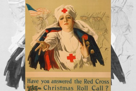 Red Cross Christmas poster