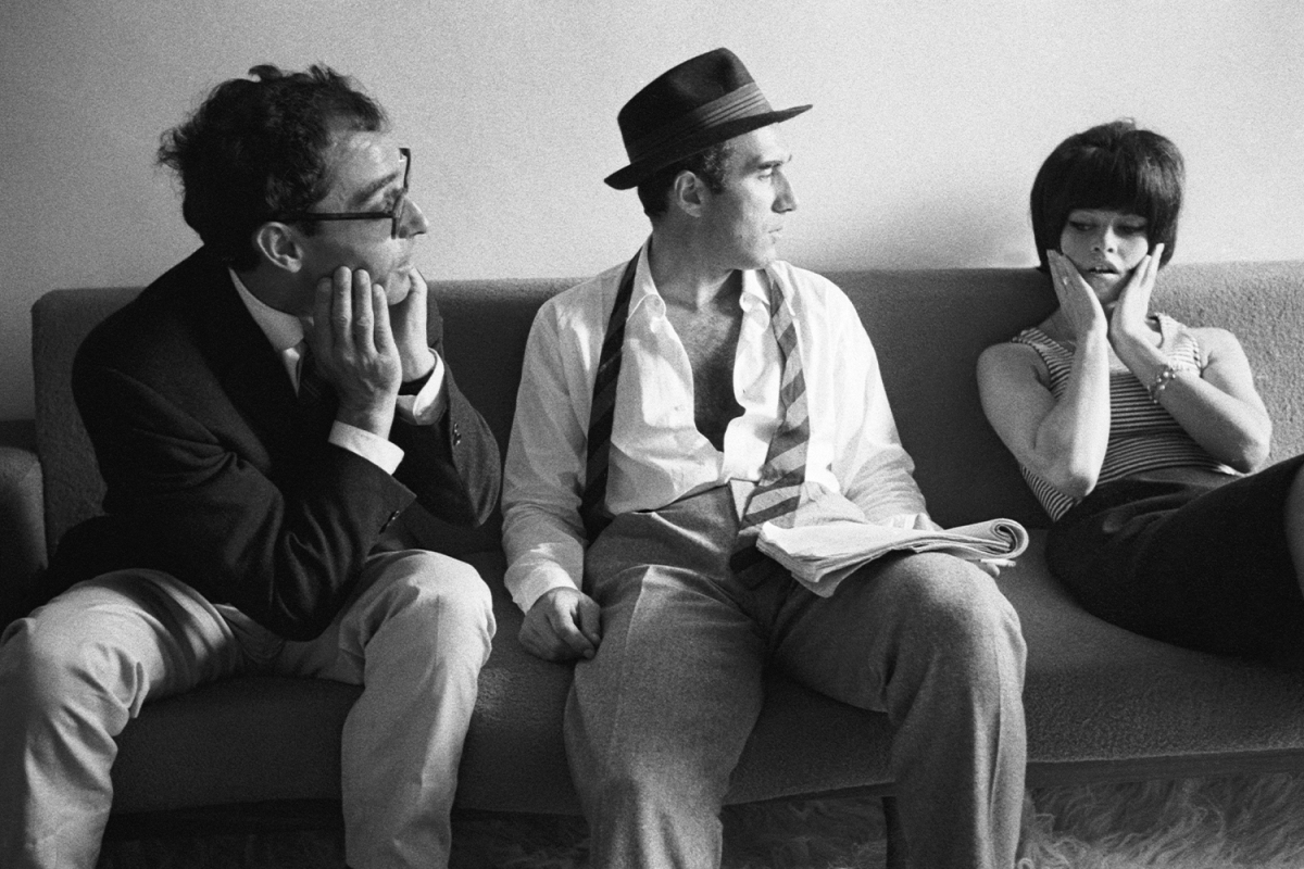 Style lessons from Jean-Luc Godard's leading male characters.