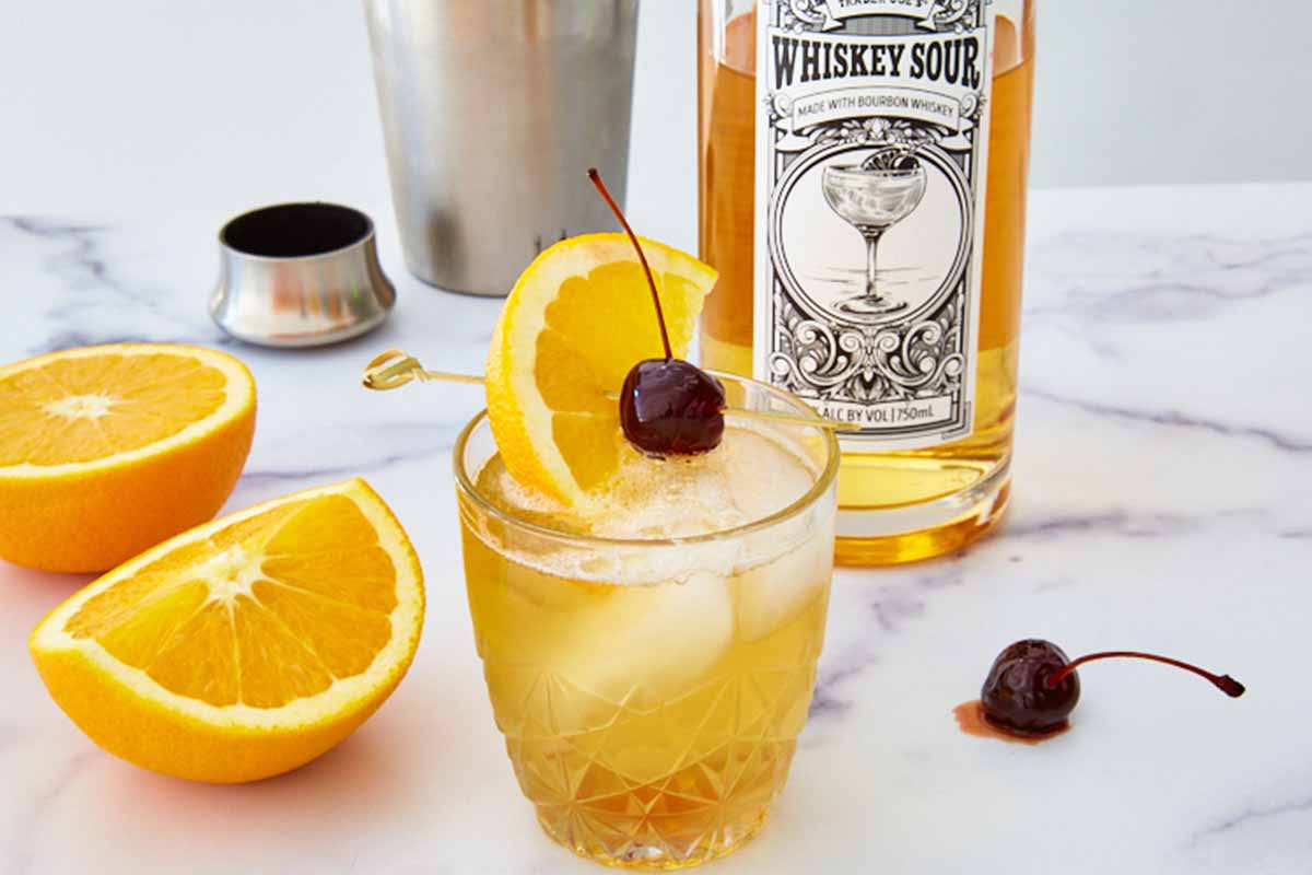 Trader Joe's Whiskey Sour
