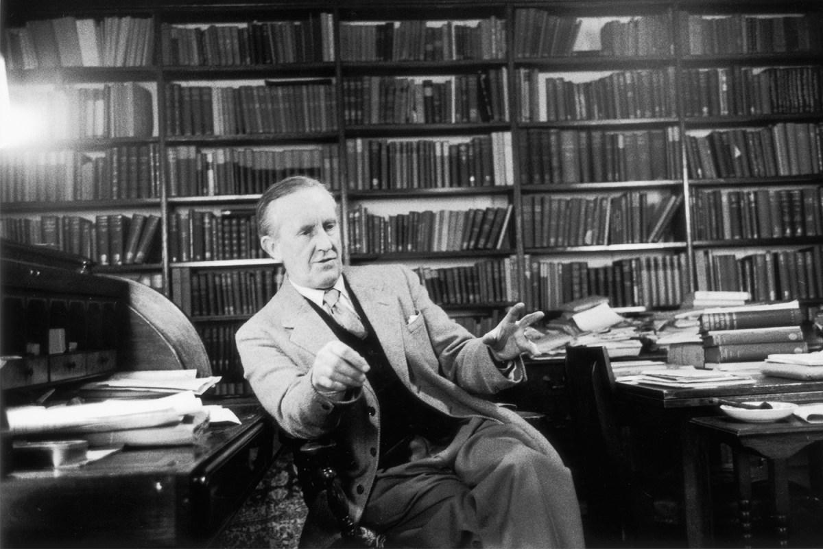 Author J.R.R. Tolkien 1955