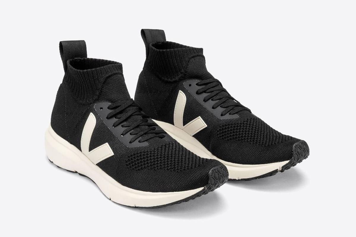 veja rick owens v-knit sneaker shoe
