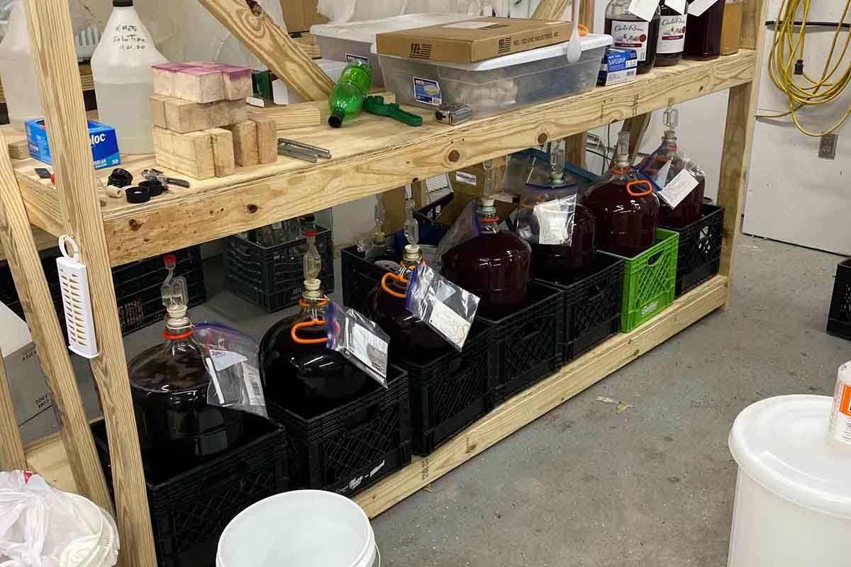 Alabama illegal winery in a wastewater plant