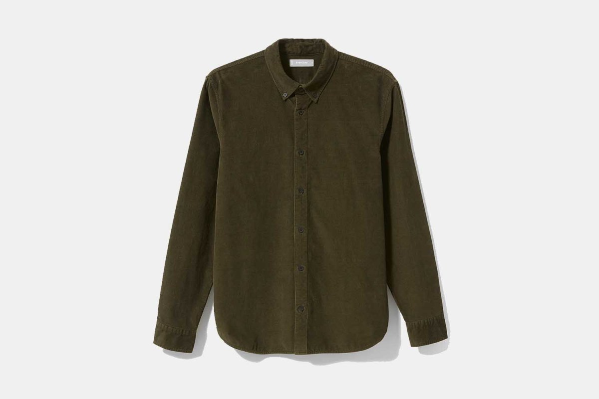 Deal: Everlane's Corduroy Shirt Is the Perfect Winter Basic and Currently Half Off