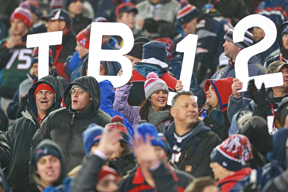 tb12 patriots fans