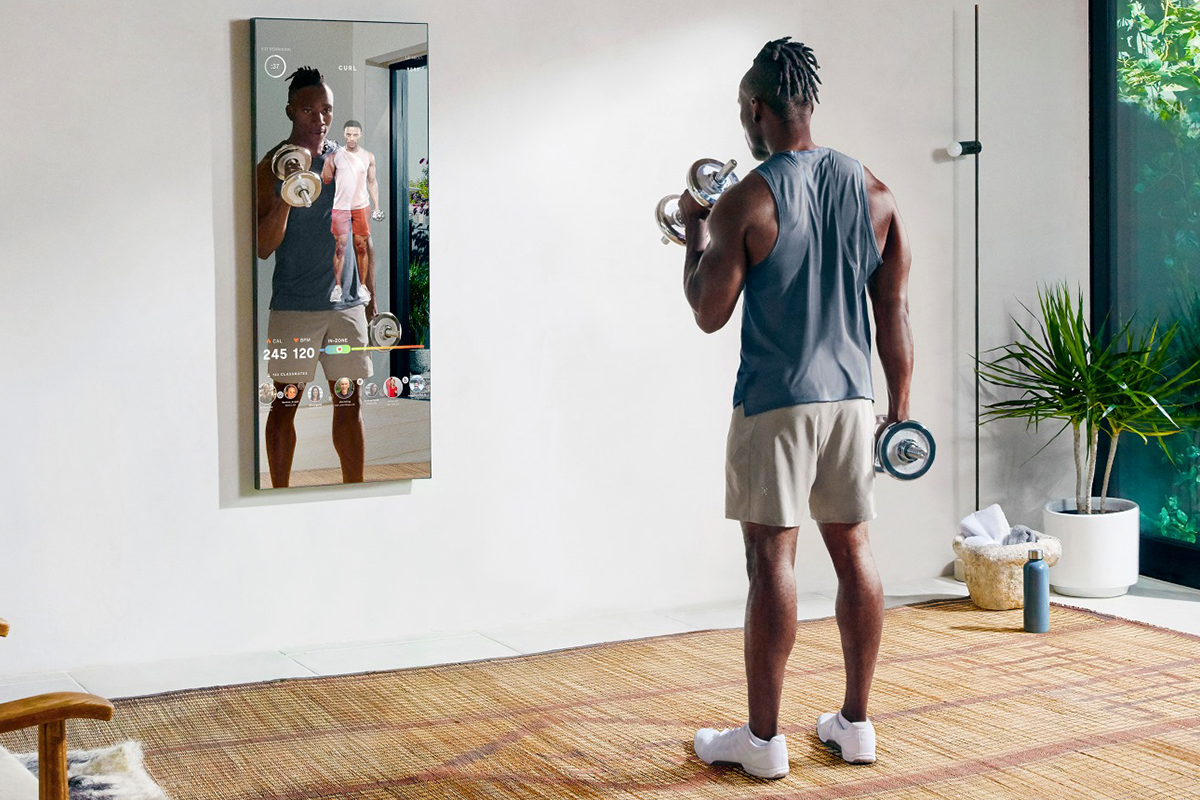 mirror working out