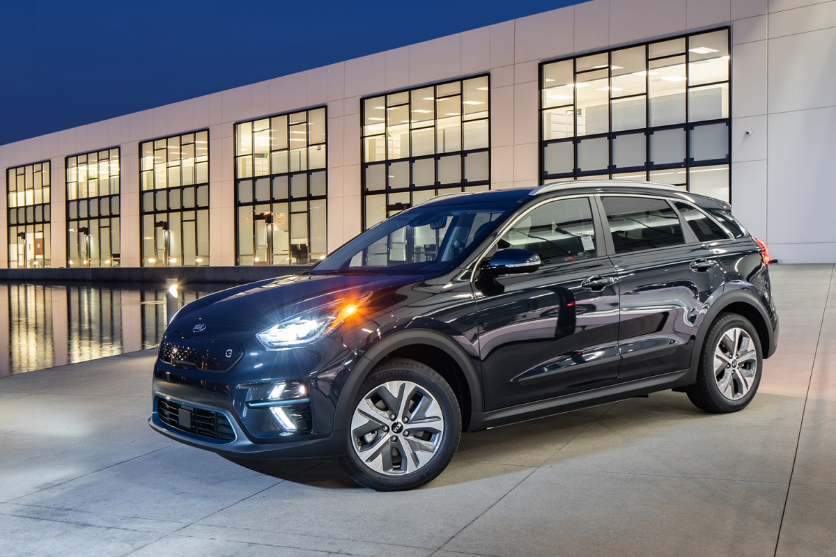 2020 Kia Niro EV in black
