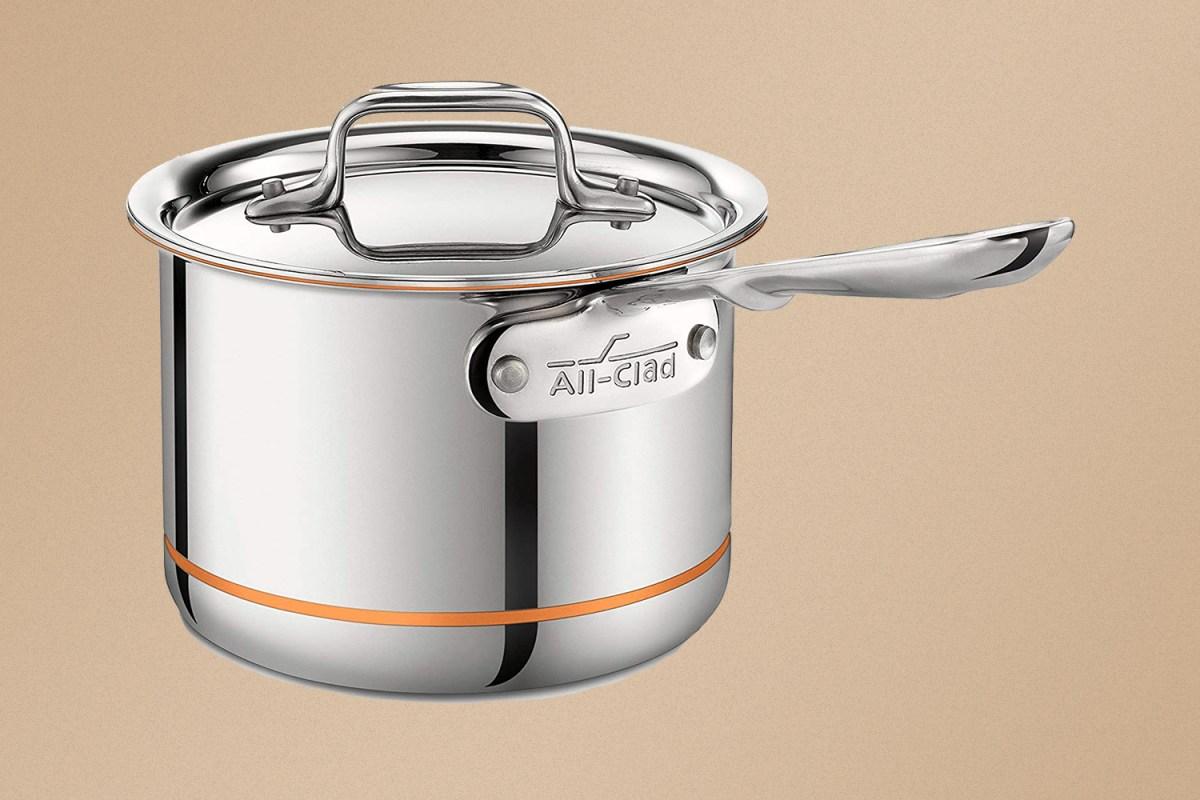 All-Clad copper core pot
