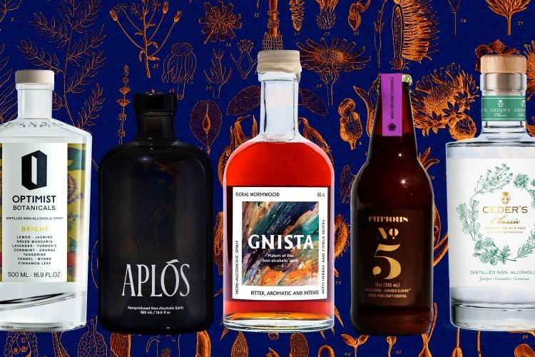 Booze-free bottles