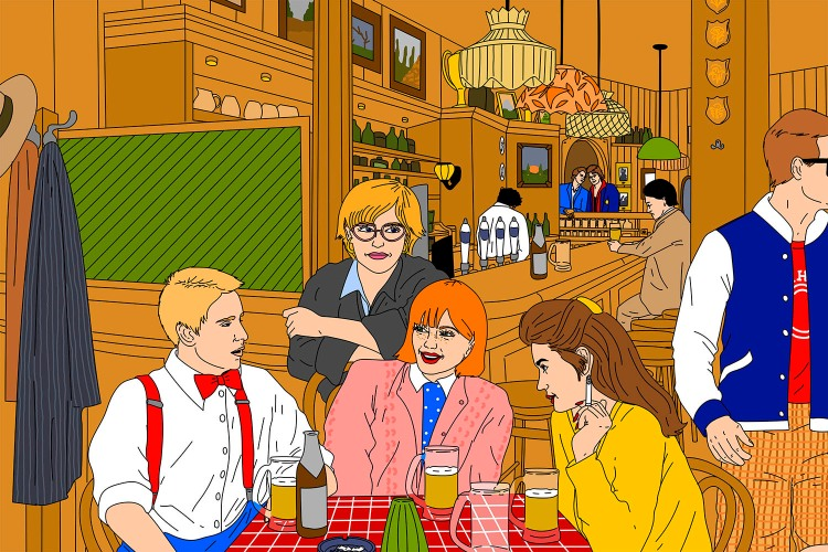 Revisiting the 1980s Heyday of Georgteown's Fabled Preppy Bars