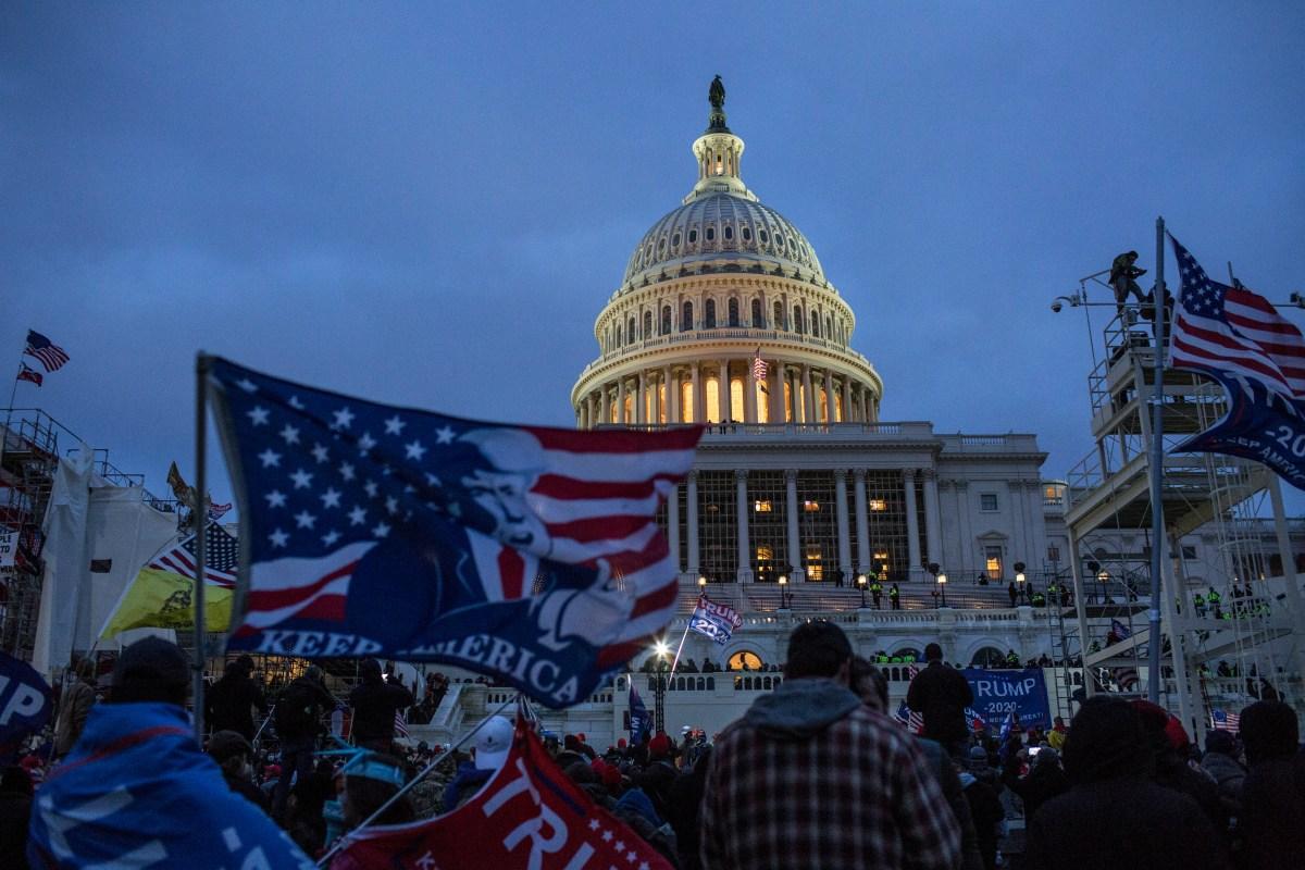 U.S. Capitol breached