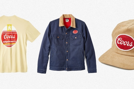 Huckberry and Coors Golden Hour series gear