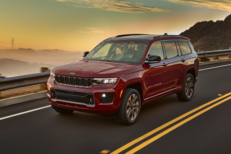Grand Cherokee L Is Jeep S First Three Row Suv Since 2010 Insidehook
