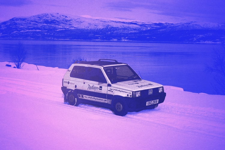 How the Fiat Panda 4×4 Became the Unlikely Winter Hero of the Italian Glitterati