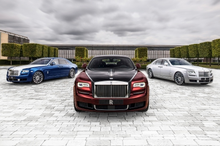 Rolls-Royce Ghost Zenith cars
