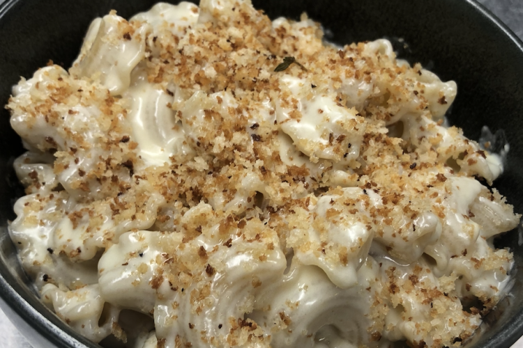 Celebrity chef Michael Schulson's take on grown-up macaroni and cheese.