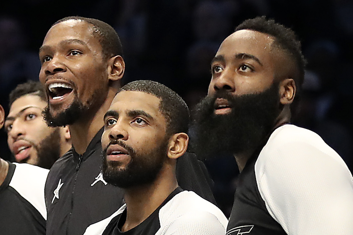 "Do the Nets Have the Best ""Big Three"" In NBA History With Durant, Harden and Irving?"