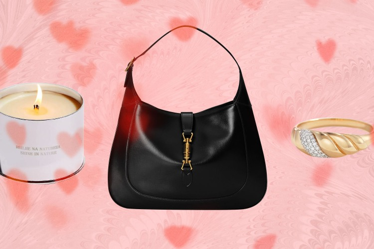 Standard Dose Candle, Gucci Bag, Mejuri Pave Ring