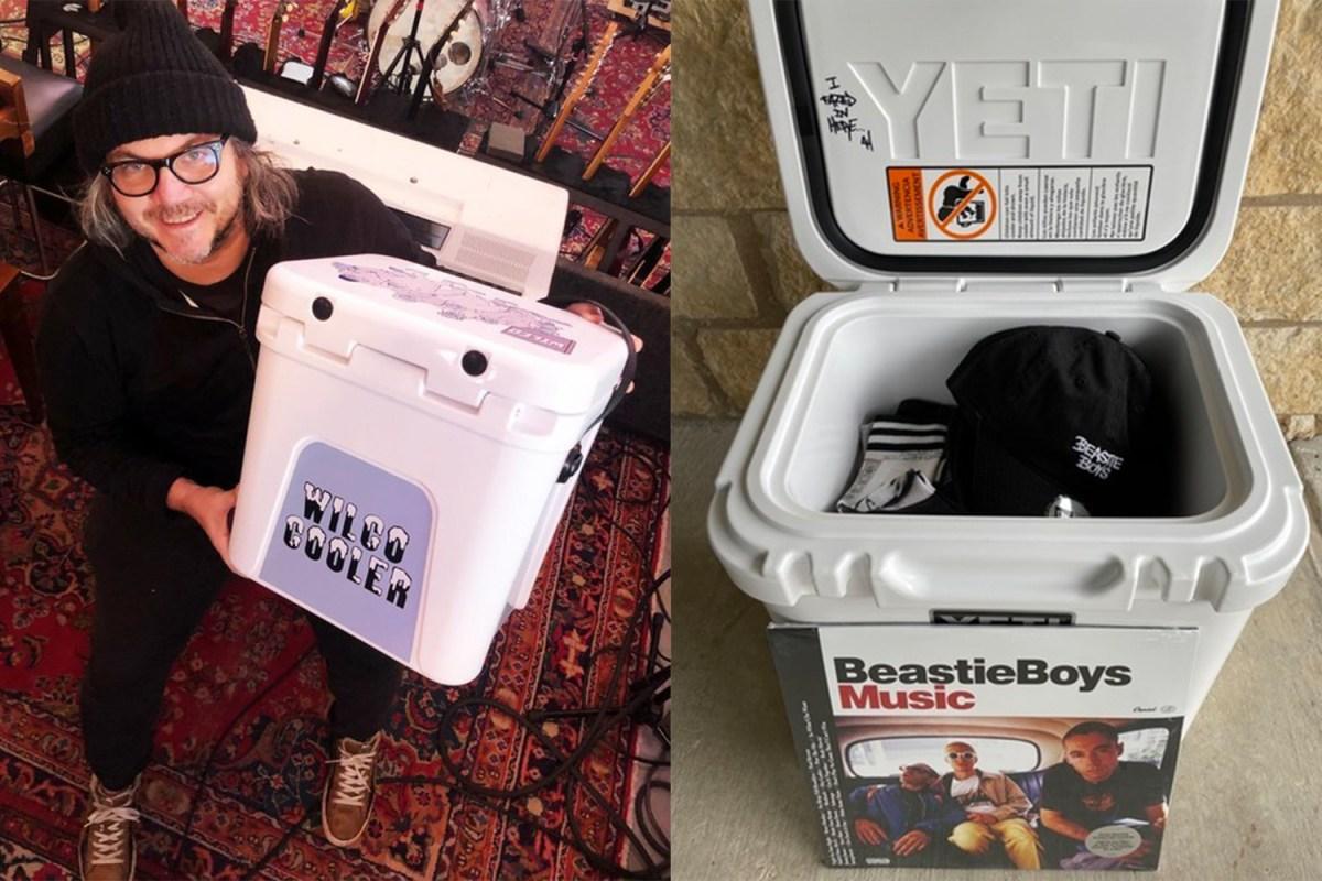 Wilco and Beastie Boys Yeti coolers